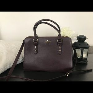 Kate Spade Mulberry Street in Mahogany